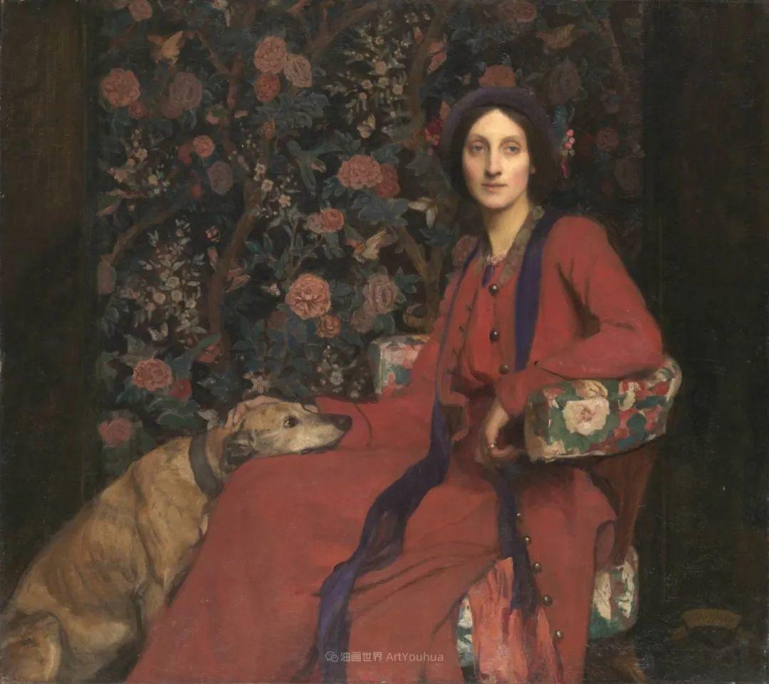 英国浪漫主义晚期肖像画家,皇家美术学院院士乔治·沃森插图29
