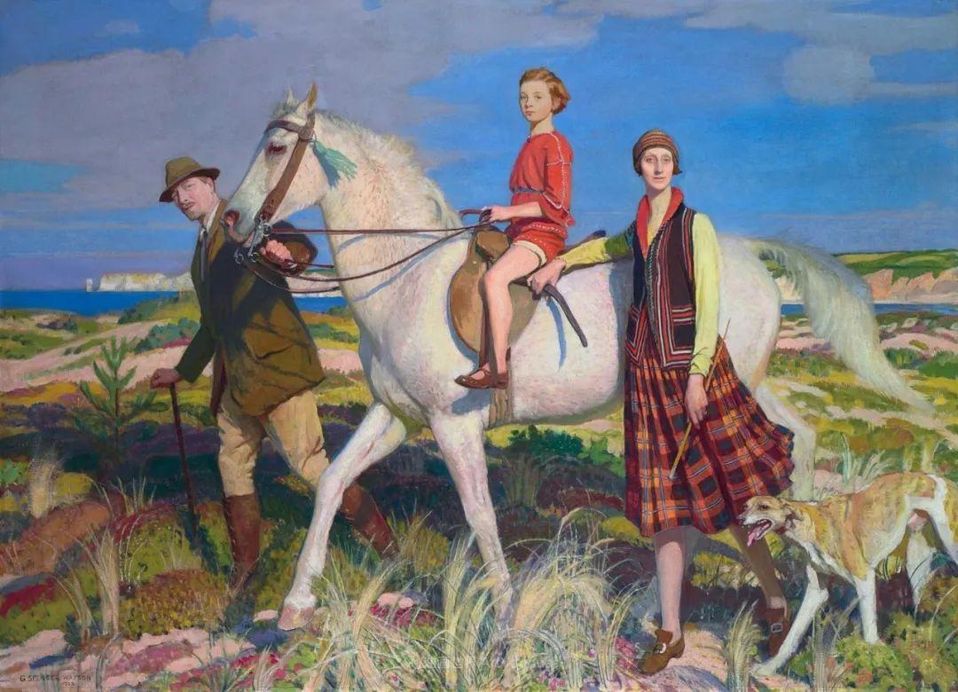 英国浪漫主义晚期肖像画家,皇家美术学院院士乔治·沃森插图31