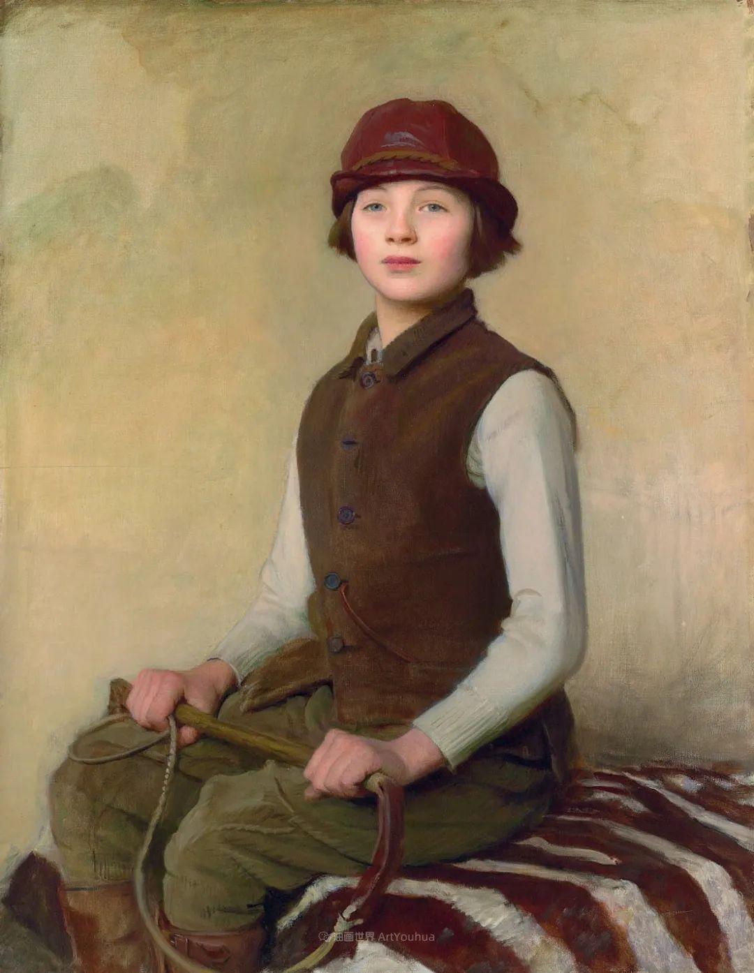 英国浪漫主义晚期肖像画家,皇家美术学院院士乔治·沃森插图33