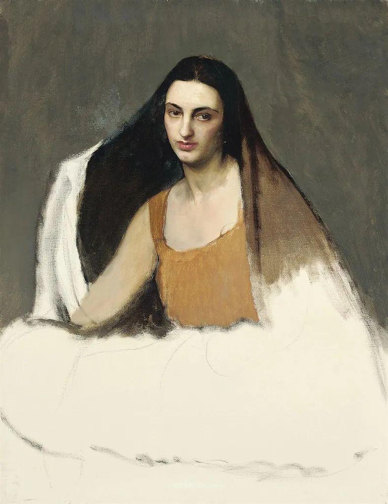 英国浪漫主义晚期肖像画家,皇家美术学院院士乔治·沃森插图35