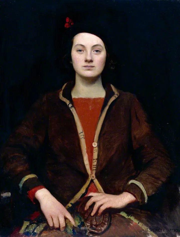 英国浪漫主义晚期肖像画家,皇家美术学院院士乔治·沃森插图37