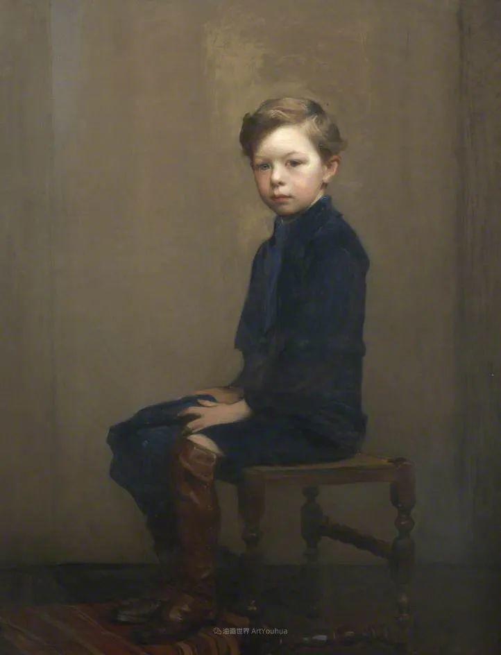 英国浪漫主义晚期肖像画家,皇家美术学院院士乔治·沃森插图39