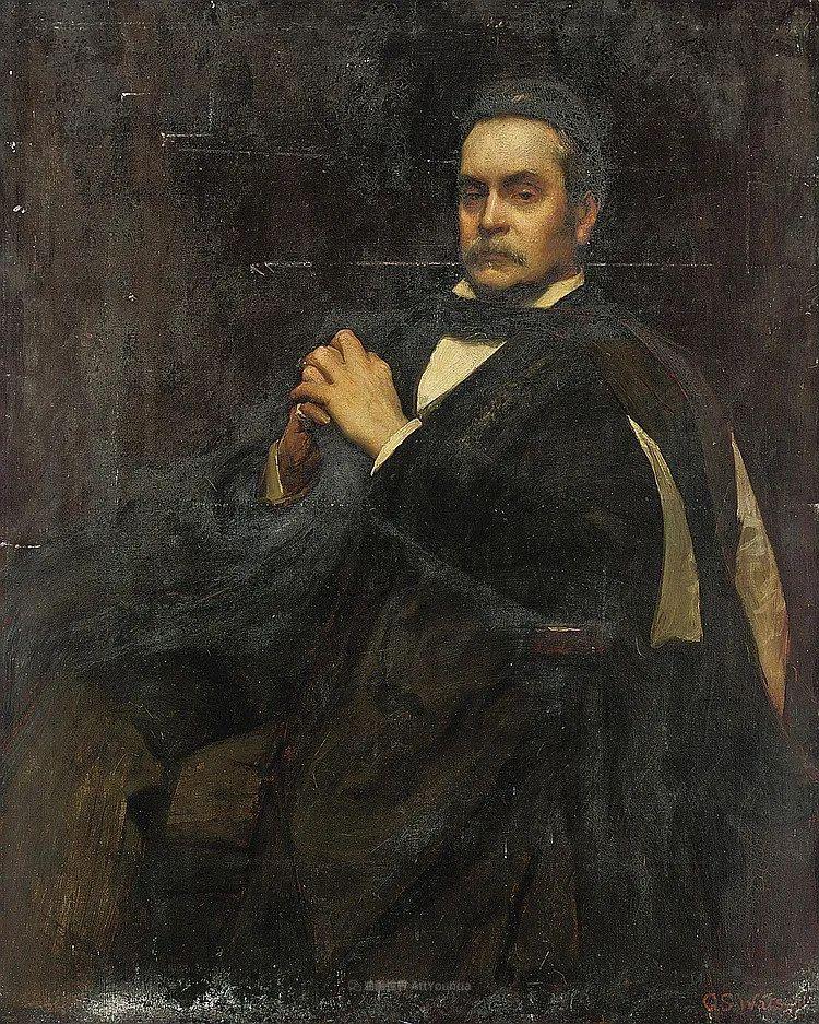 英国浪漫主义晚期肖像画家,皇家美术学院院士乔治·沃森插图49