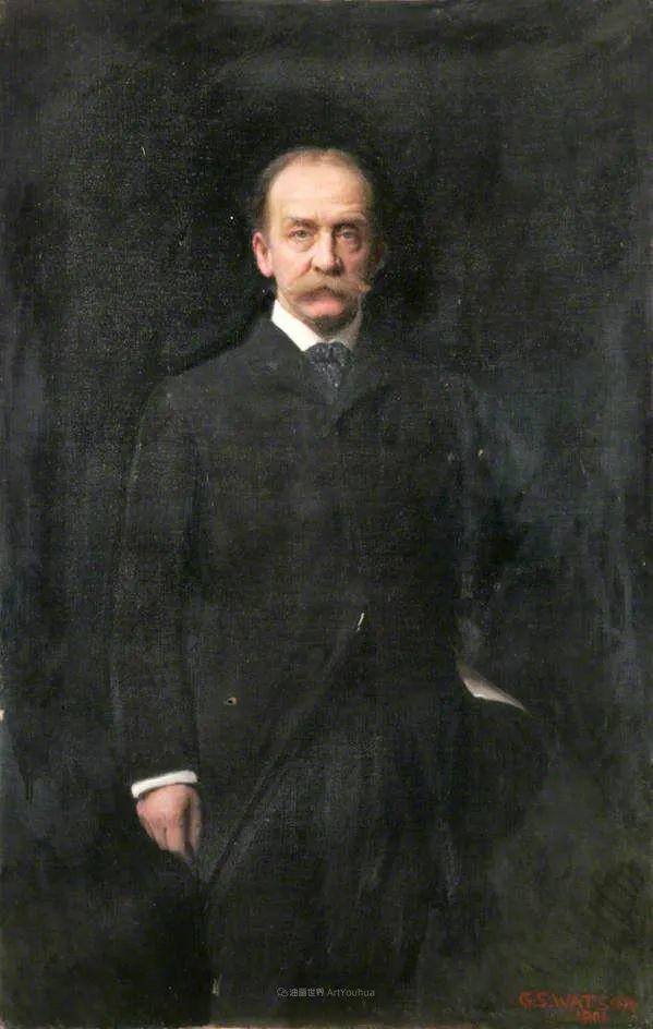 英国浪漫主义晚期肖像画家,皇家美术学院院士乔治·沃森插图51