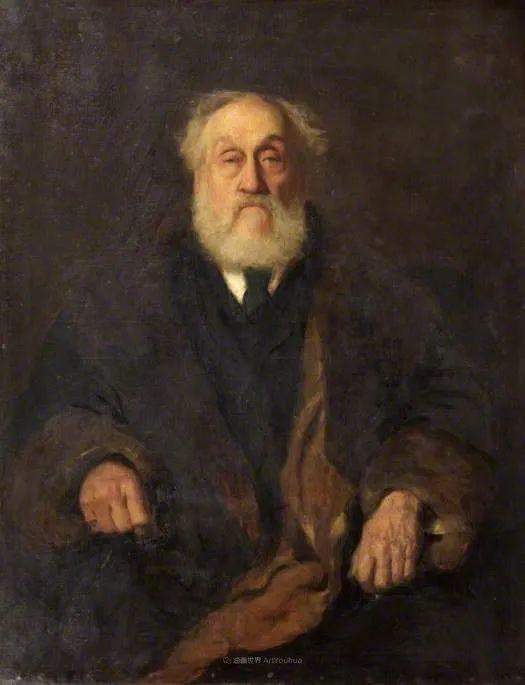 英国浪漫主义晚期肖像画家,皇家美术学院院士乔治·沃森插图53