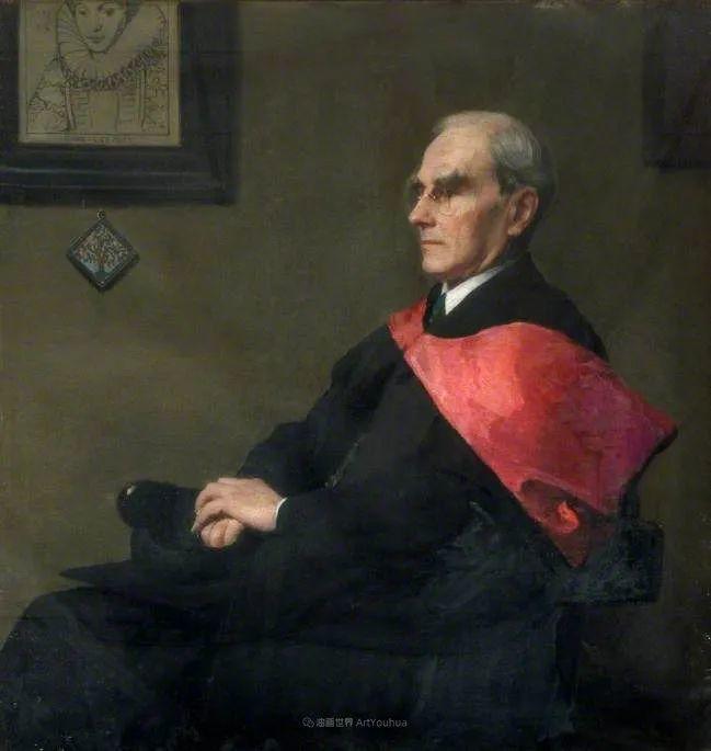 英国浪漫主义晚期肖像画家,皇家美术学院院士乔治·沃森插图57