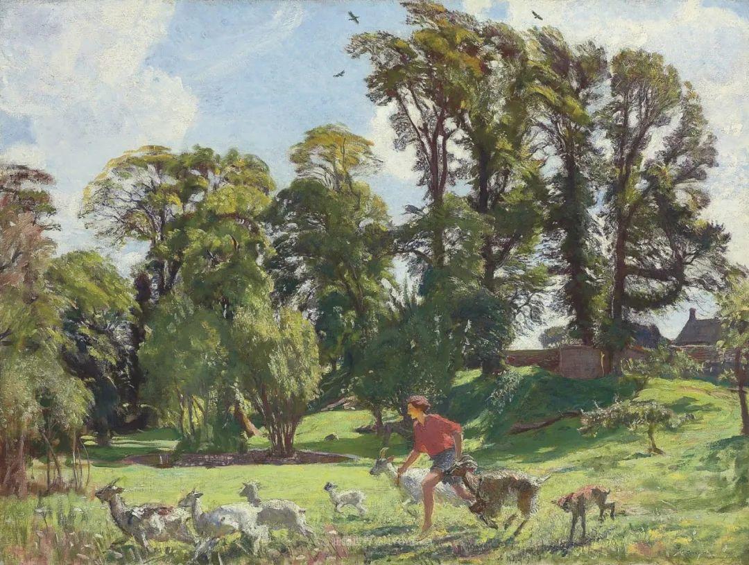 英国浪漫主义晚期肖像画家,皇家美术学院院士乔治·沃森插图69