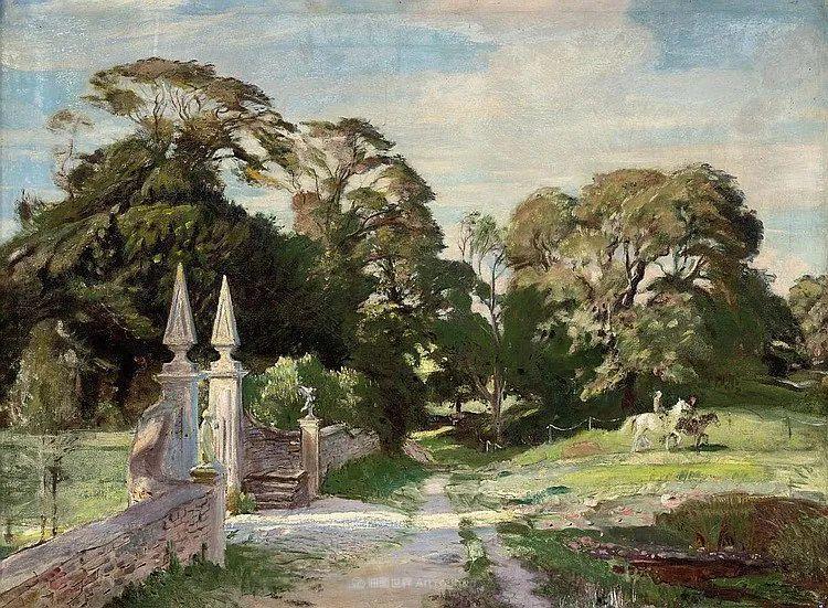英国浪漫主义晚期肖像画家,皇家美术学院院士乔治·沃森插图79