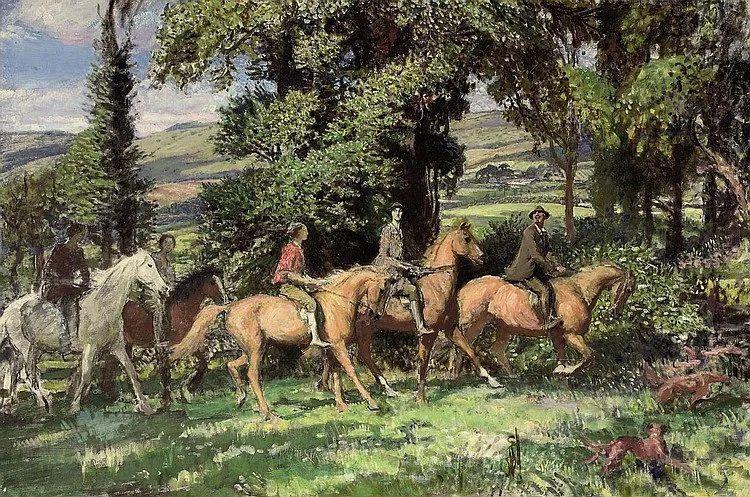 英国浪漫主义晚期肖像画家,皇家美术学院院士乔治·沃森插图81