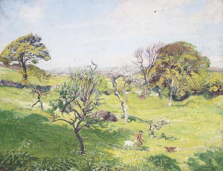 英国浪漫主义晚期肖像画家,皇家美术学院院士乔治·沃森插图89