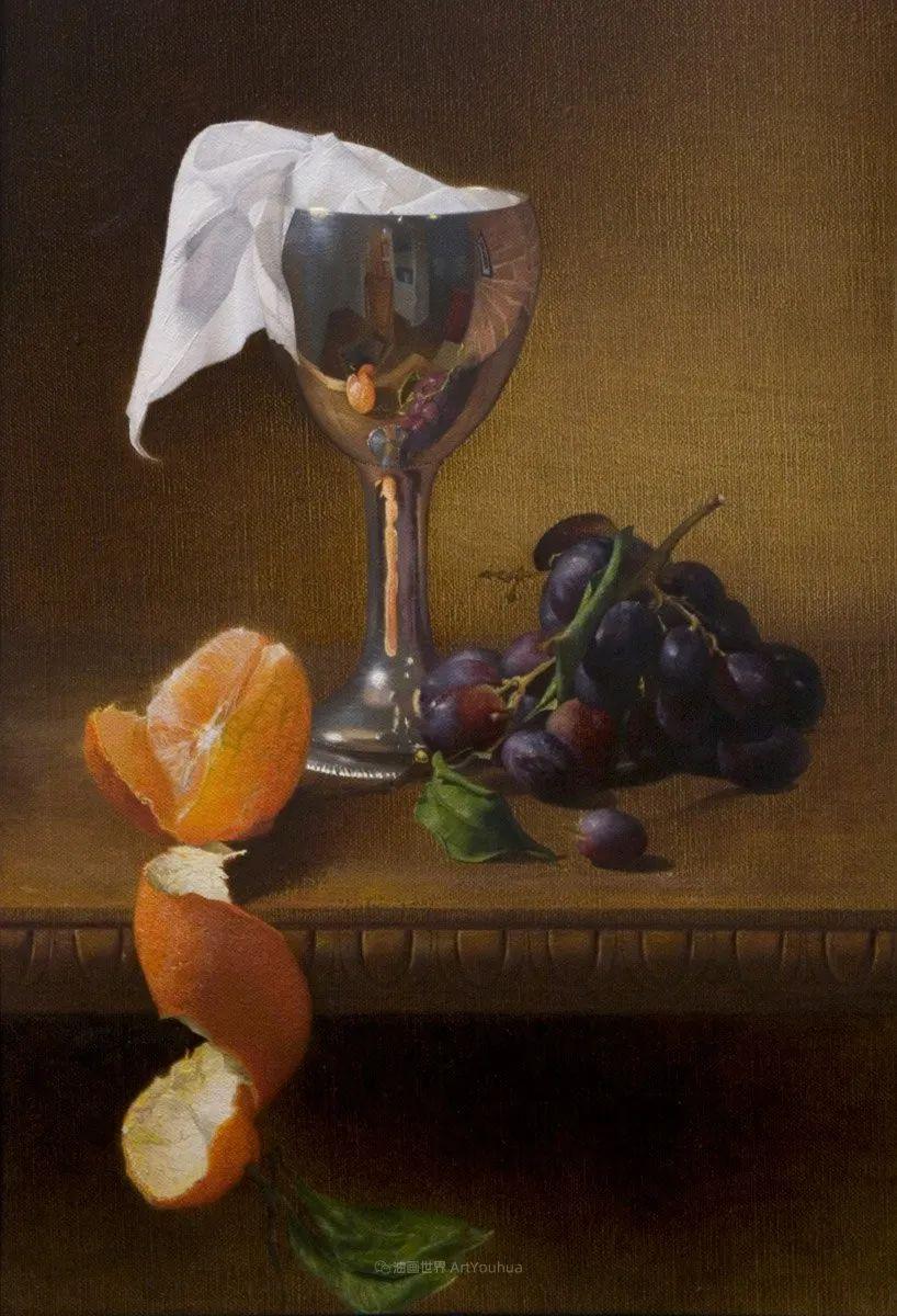 人物肖像与静物,英国女画家南希·弗莱彻插图5