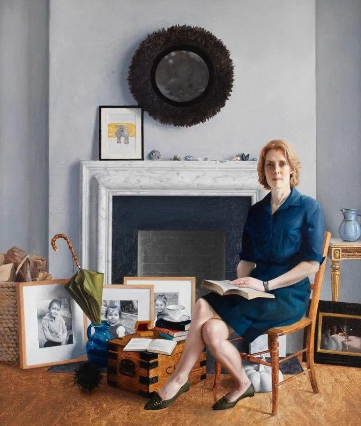 人物肖像与静物,英国女画家南希·弗莱彻插图7