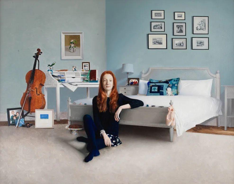 人物肖像与静物,英国女画家南希·弗莱彻插图9