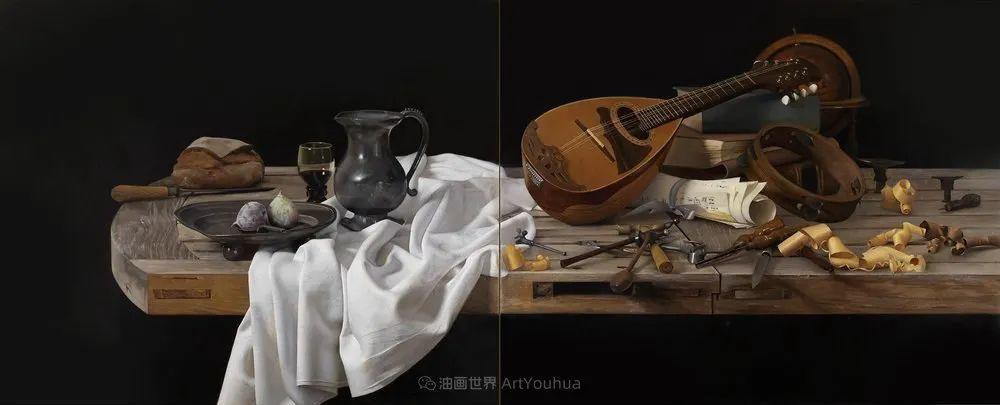 人物肖像与静物,英国女画家南希·弗莱彻插图13