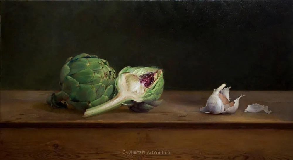 人物肖像与静物,英国女画家南希·弗莱彻插图15