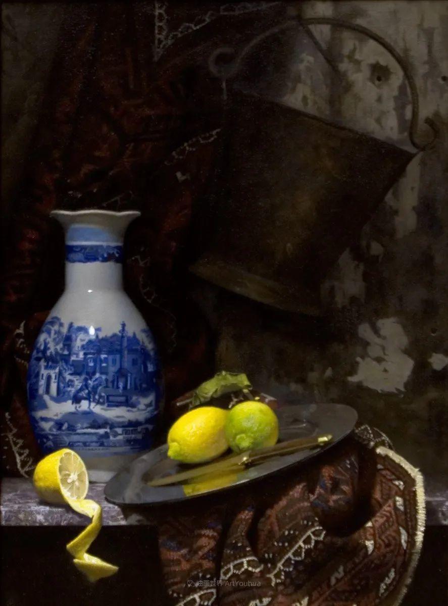 人物肖像与静物,英国女画家南希·弗莱彻插图21