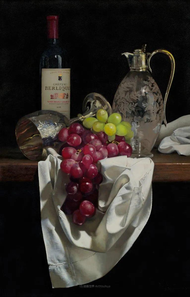 人物肖像与静物,英国女画家南希·弗莱彻插图23