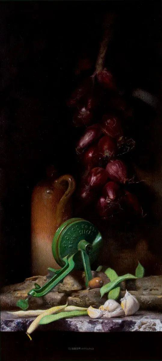 人物肖像与静物,英国女画家南希·弗莱彻插图29
