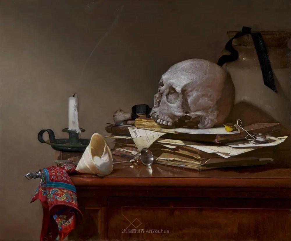 人物肖像与静物,英国女画家南希·弗莱彻插图31