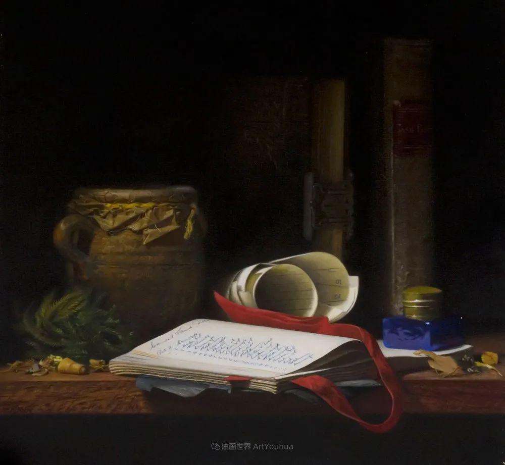 人物肖像与静物,英国女画家南希·弗莱彻插图33