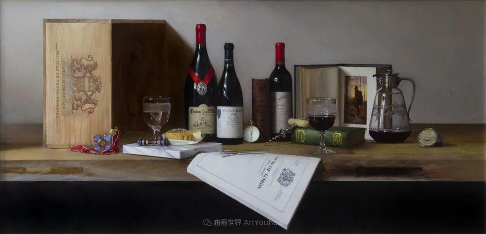 人物肖像与静物,英国女画家南希·弗莱彻插图35