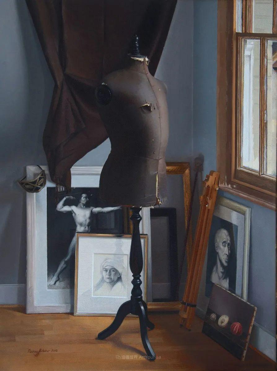 人物肖像与静物,英国女画家南希·弗莱彻插图37