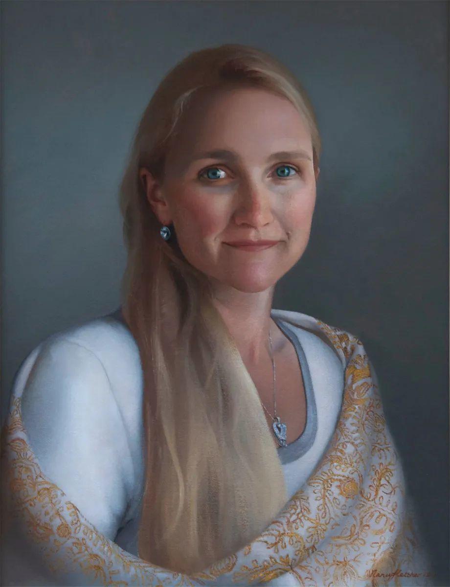 人物肖像与静物,英国女画家南希·弗莱彻插图39