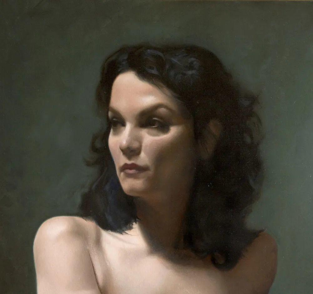 人物肖像与静物,英国女画家南希·弗莱彻插图41