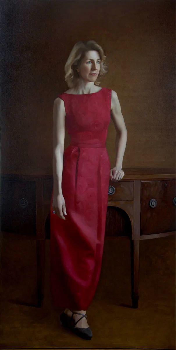 人物肖像与静物,英国女画家南希·弗莱彻插图43