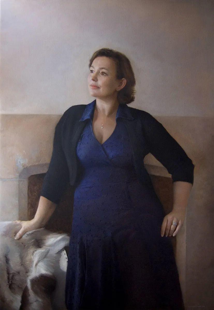 人物肖像与静物,英国女画家南希·弗莱彻插图45