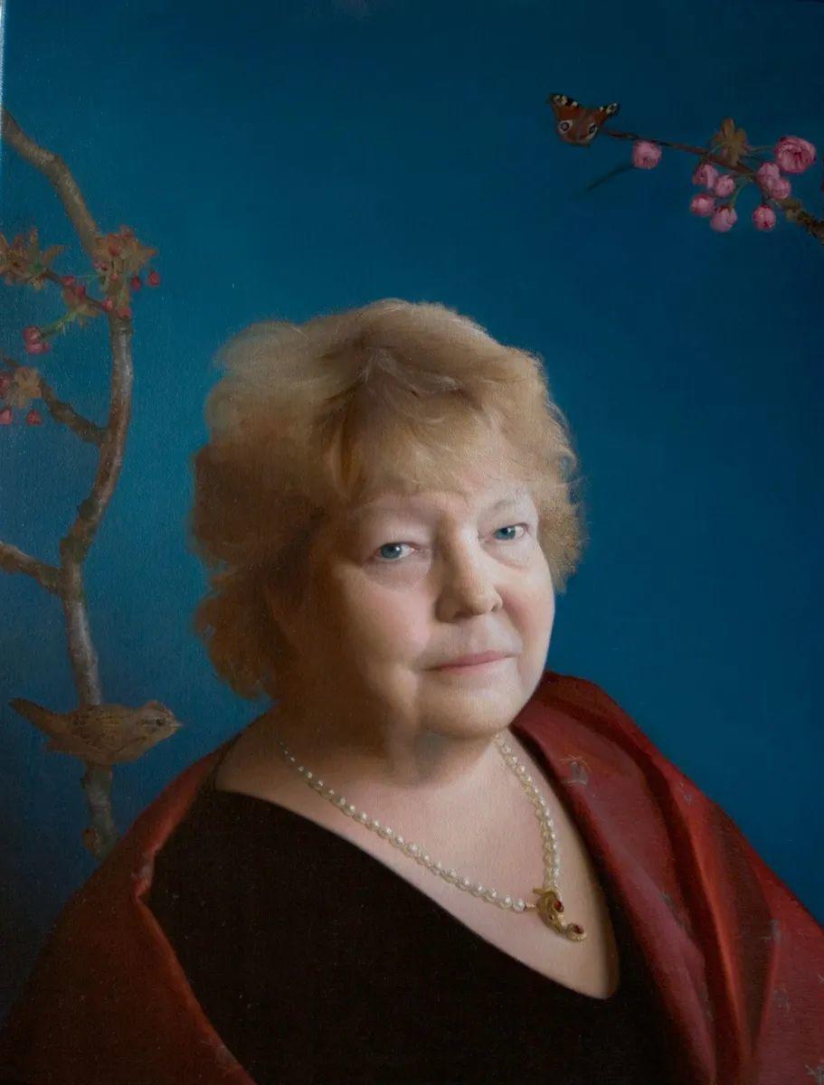 人物肖像与静物,英国女画家南希·弗莱彻插图47