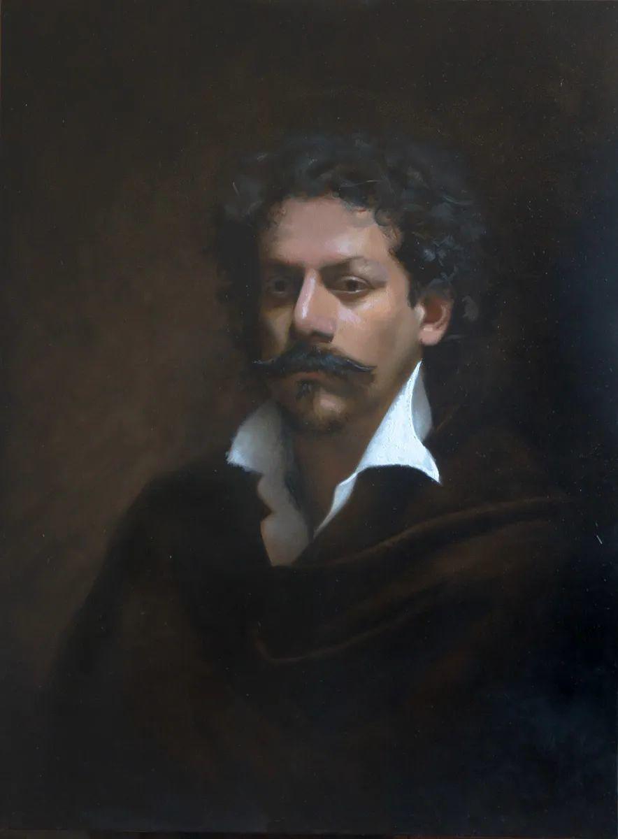 人物肖像与静物,英国女画家南希·弗莱彻插图51