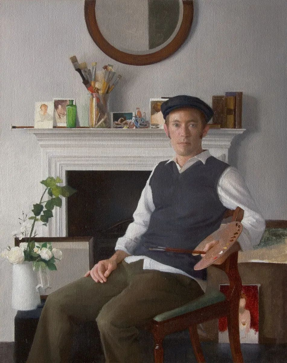 人物肖像与静物,英国女画家南希·弗莱彻插图55