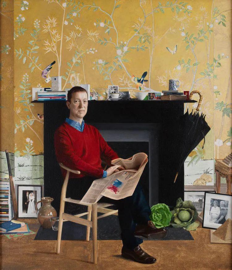人物肖像与静物,英国女画家南希·弗莱彻插图57