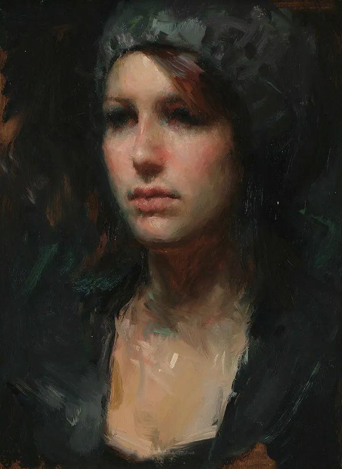 他的画作充满了独特的表现力插图53
