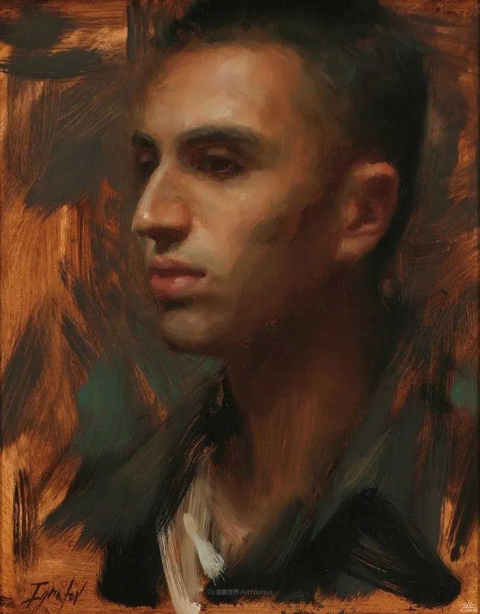 他的画作充满了独特的表现力插图63