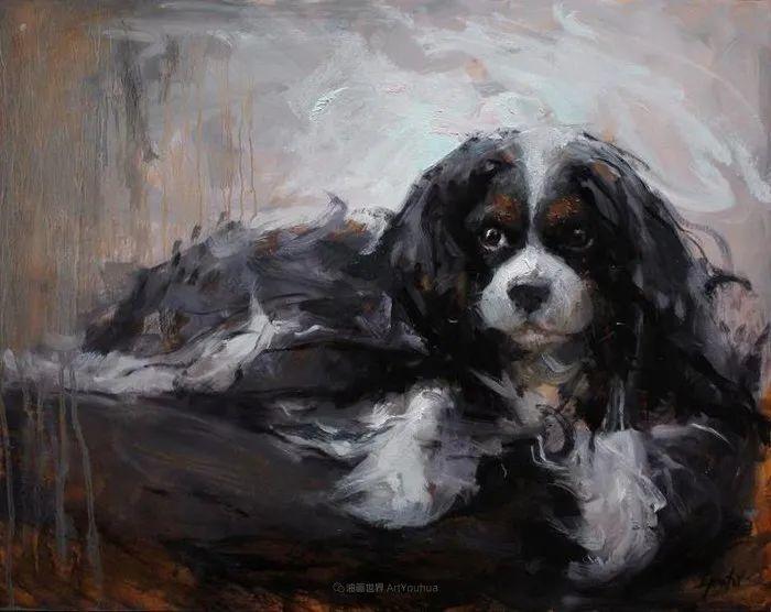 他的画作充满了独特的表现力插图65