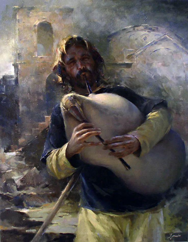 他的画作充满了独特的表现力插图71