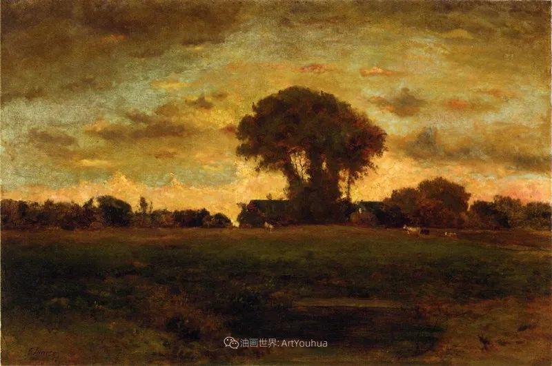 富有生气的风景画,美国新风景画派的先驱画家!插图19