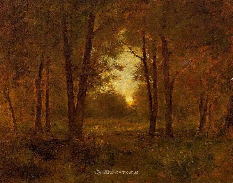 富有生气的风景画,美国新风景画派的先驱画家!插图63