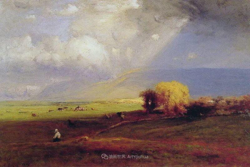 富有生气的风景画,美国新风景画派的先驱画家!插图69