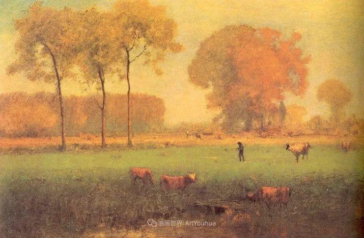 富有生气的风景画,美国新风景画派的先驱画家!插图71