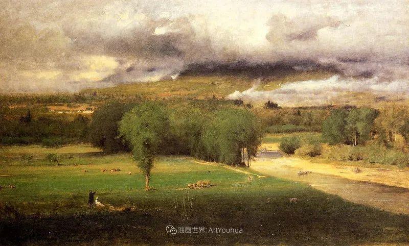 富有生气的风景画,美国新风景画派的先驱画家!插图97