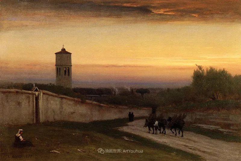 富有生气的风景画,美国新风景画派的先驱画家!插图137