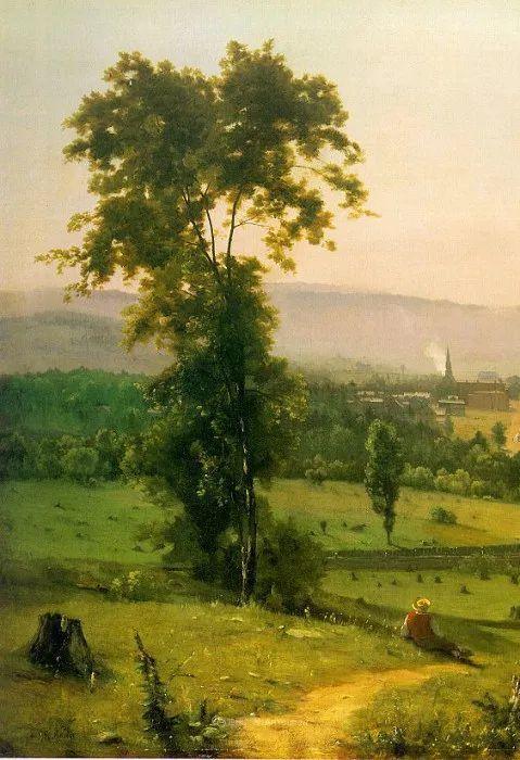 富有生气的风景画,美国新风景画派的先驱画家!插图145