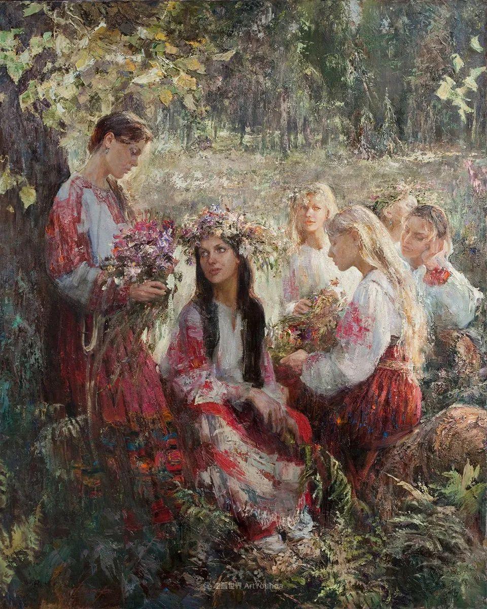 人物肖像,俄罗斯女画家安娜·维诺加拉多娃插图21