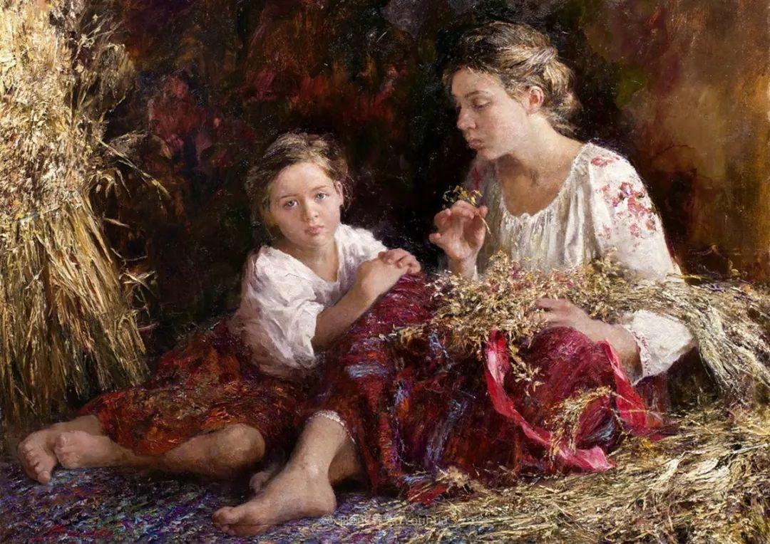 人物肖像,俄罗斯女画家安娜·维诺加拉多娃插图29