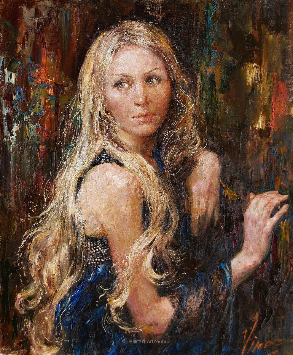 人物肖像,俄罗斯女画家安娜·维诺加拉多娃插图35