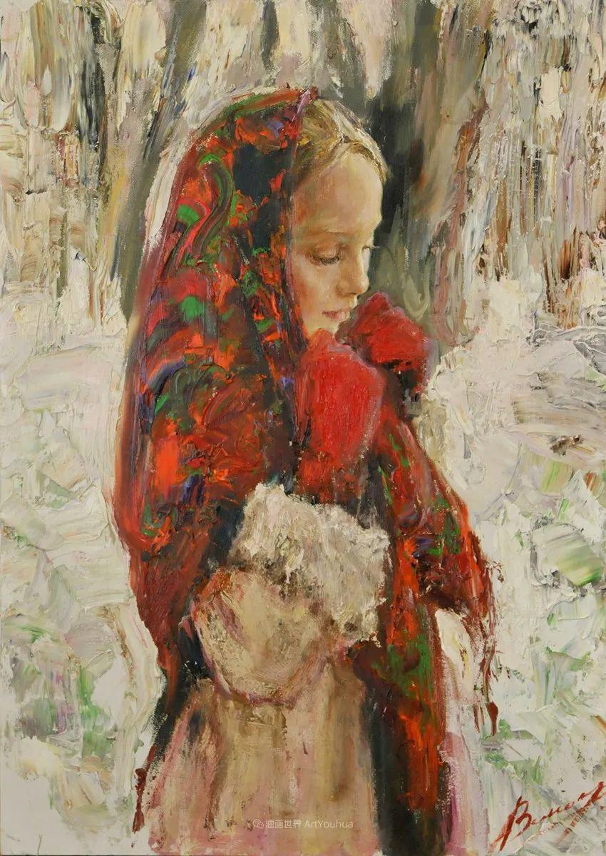 人物肖像,俄罗斯女画家安娜·维诺加拉多娃插图63