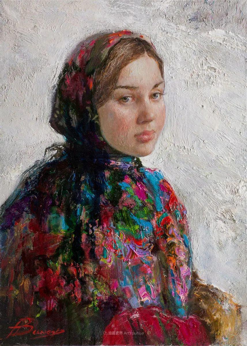 人物肖像,俄罗斯女画家安娜·维诺加拉多娃插图67